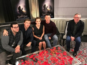 Beauty and the Beast 2017 cast Q&A
