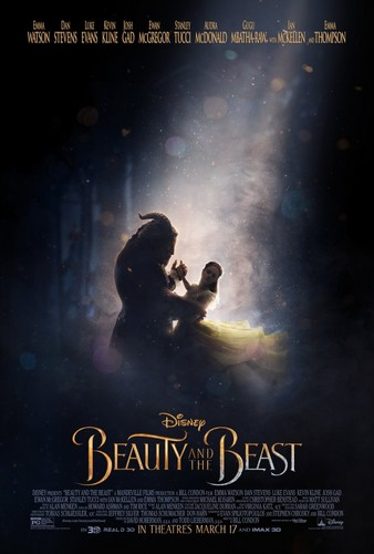 Beauty and the Beast (2017) wallpaper probably with anime titled Beauty and the Beast - Teaser Poster