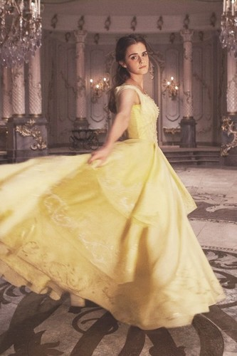 Beauty And The Beast 2017 Achtergrond With A Gown Bridal Belle