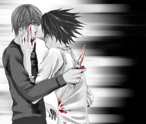 Bloody kiss...?