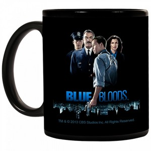 Blue Bloods Merchandising Coffeecup