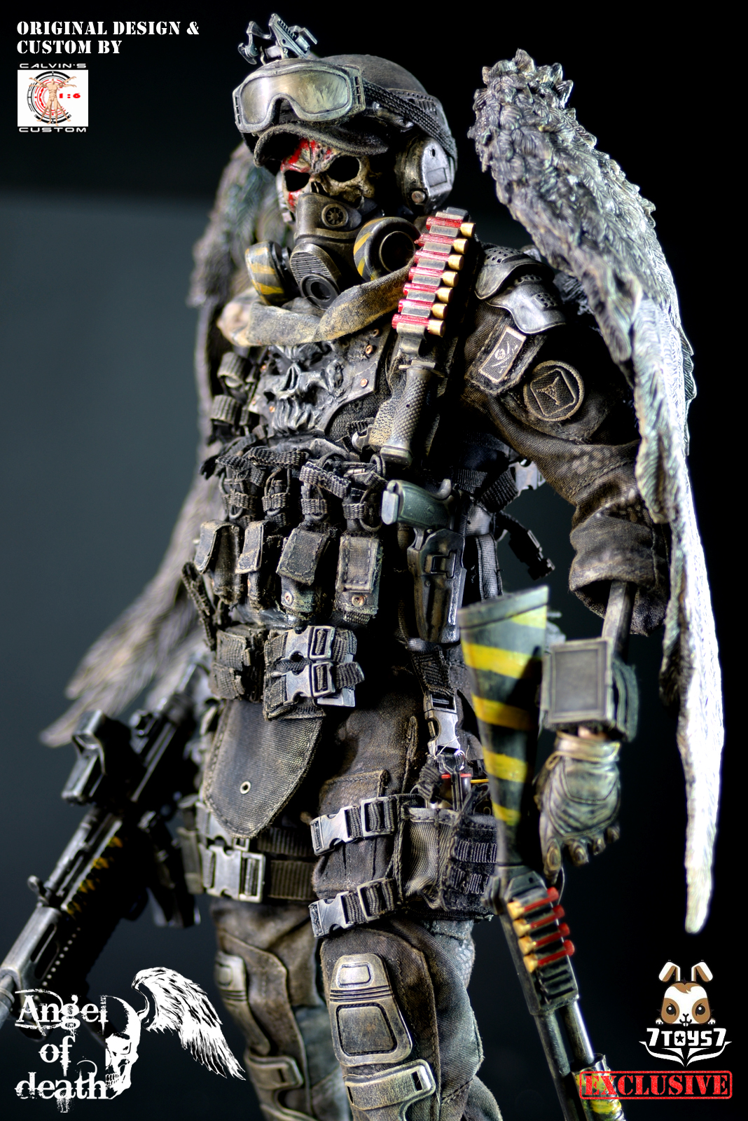 Call of duty black ops images calvins custom x 7toys7 ebay call of duty black ops images calvins custom x 7toys7 ebay exclusive 06 angel of death hd wallpaper and background photos voltagebd Image collections