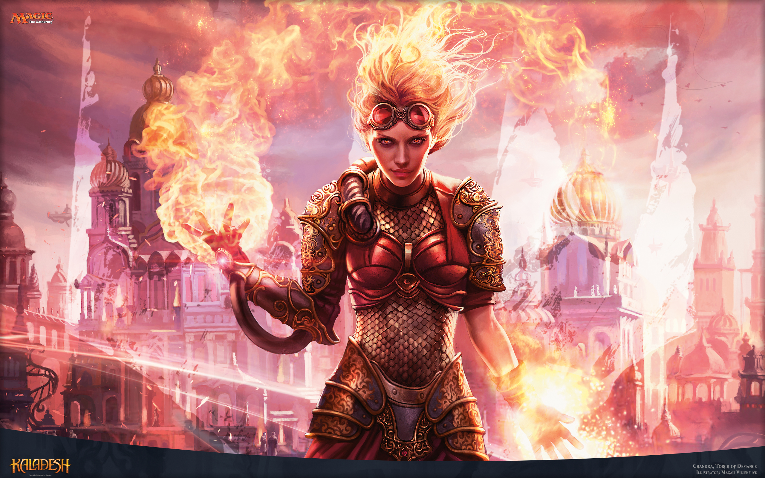 Magic the Gathering images Chandra Torch of Defiance HD wallpaper and background photos