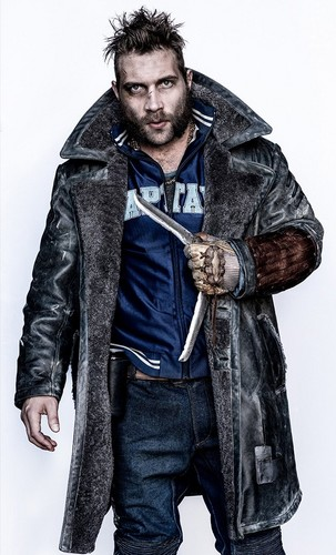 Suicide Squad 바탕화면 probably containing a box coat, a 모피 coat, and a sheepskin 코트 entitled Character Portrait ~ Captain Boomerang