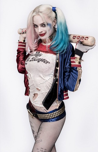 Suicide Squad 壁纸 probably with a hip boot called Character Portrait ~ Harley Quinn