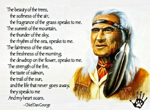 Chief Dan George quote