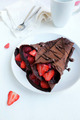 Chocolate Crepes - chocolate photo