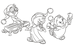 Christmas Chipmunk Colouring Pages - alvin-and-the-chipmunks icon
