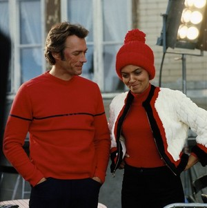 Clint Eastwood and Vonetta McGee