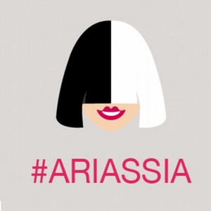 Close up of Sia's ARIAs TwitterAU emoji!