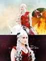 Daenerys  - game-of-thrones fan art
