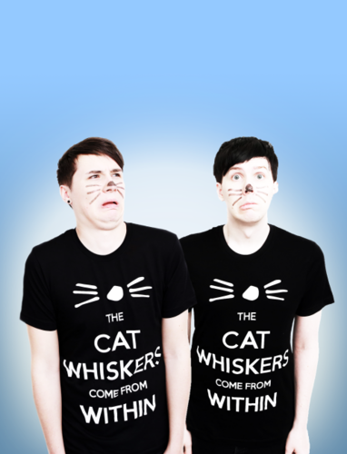danisnotonfire hình nền containing a jersey entitled Dan and Phil