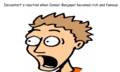 Deviantart's reaction to Connor Banjoper's fame.