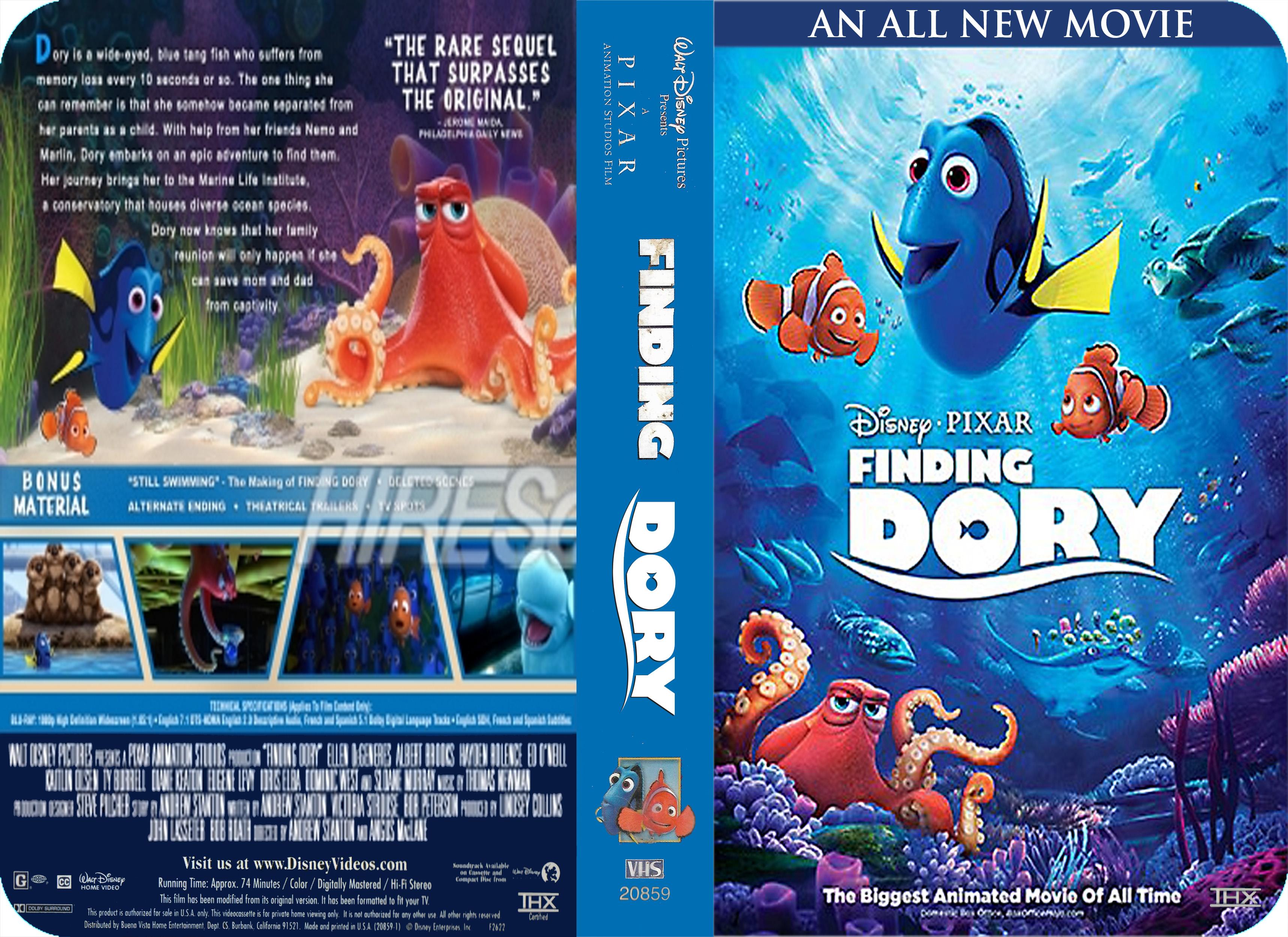 Disney•Pixar's Finding Dory (2003) VHS