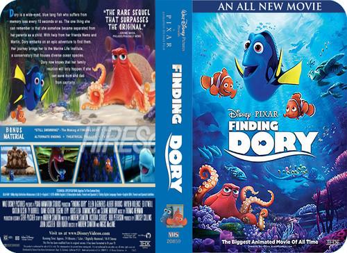 Finding Nemo wolpeyper called Disney•Pixar's Finding Dory (2003) VHS