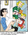 Disposable Income - dennis-the-menace photo
