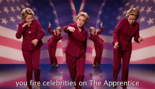 Epic Rap Battles of History 壁紙 entitled Donald Trump vs Hillary Clinton {Rap Video}