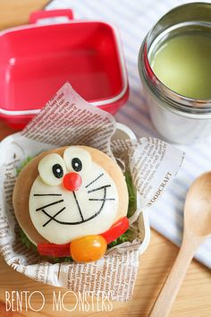 Doraemon hamburger