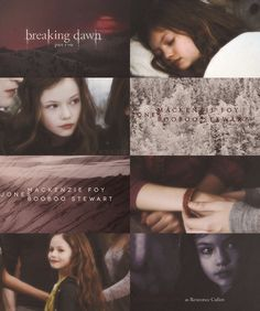 Edward, Bella and Renesmee