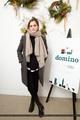 Emma Watson at Domino Magazine Holiday Pop Up in NYC [December 01, 2016]  - emma-watson photo
