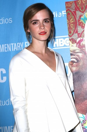 Emma Watson at Film Festival Doc NYC