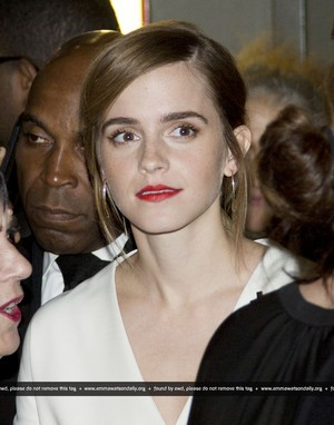 Emma Watson atteds 2016 DOC NYC - 'City Of Joy' Premiere on November, 11
