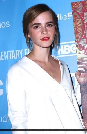 Emma Watson atteds 2016 DOC NYC - 'City Of Joy' Premiere on November, 11