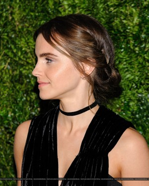 Emma Watson attends at the MoMA Film Benefit presented door CHANEL, A Tribute To Tom Hanks