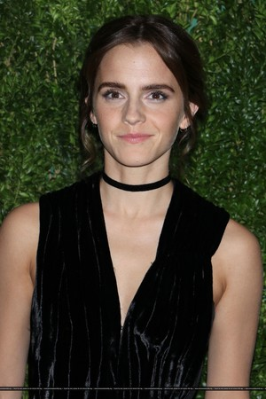 Emma Watson attends at the MoMA Film Benefit presented par CHANEL, A Tribute To Tom Hanks