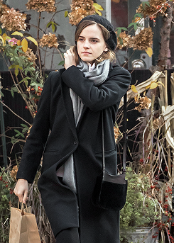 Emma Watson spotted out and about on November, 28