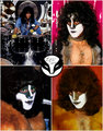 Eric Carr (July 12, 1950 – November 24, 1991) 25 years without the Fox  - kiss photo