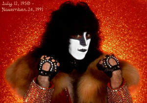 Eric Carr (July 12, 1950 – November 24, 1991) 25 years without the fuchs