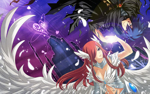 Erza and Jellal