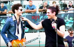Evan Stanley and Nick Simmons ~KISS Kruise 6
