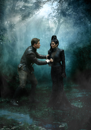 Evil queen and Charming