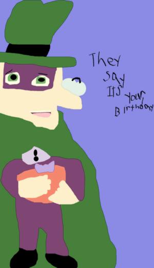 Falconlobo 843434 They Say Its Your Birthday MS Paint