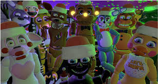 Five Nights at Freddy's پیپر وال entitled Fnaf christmas