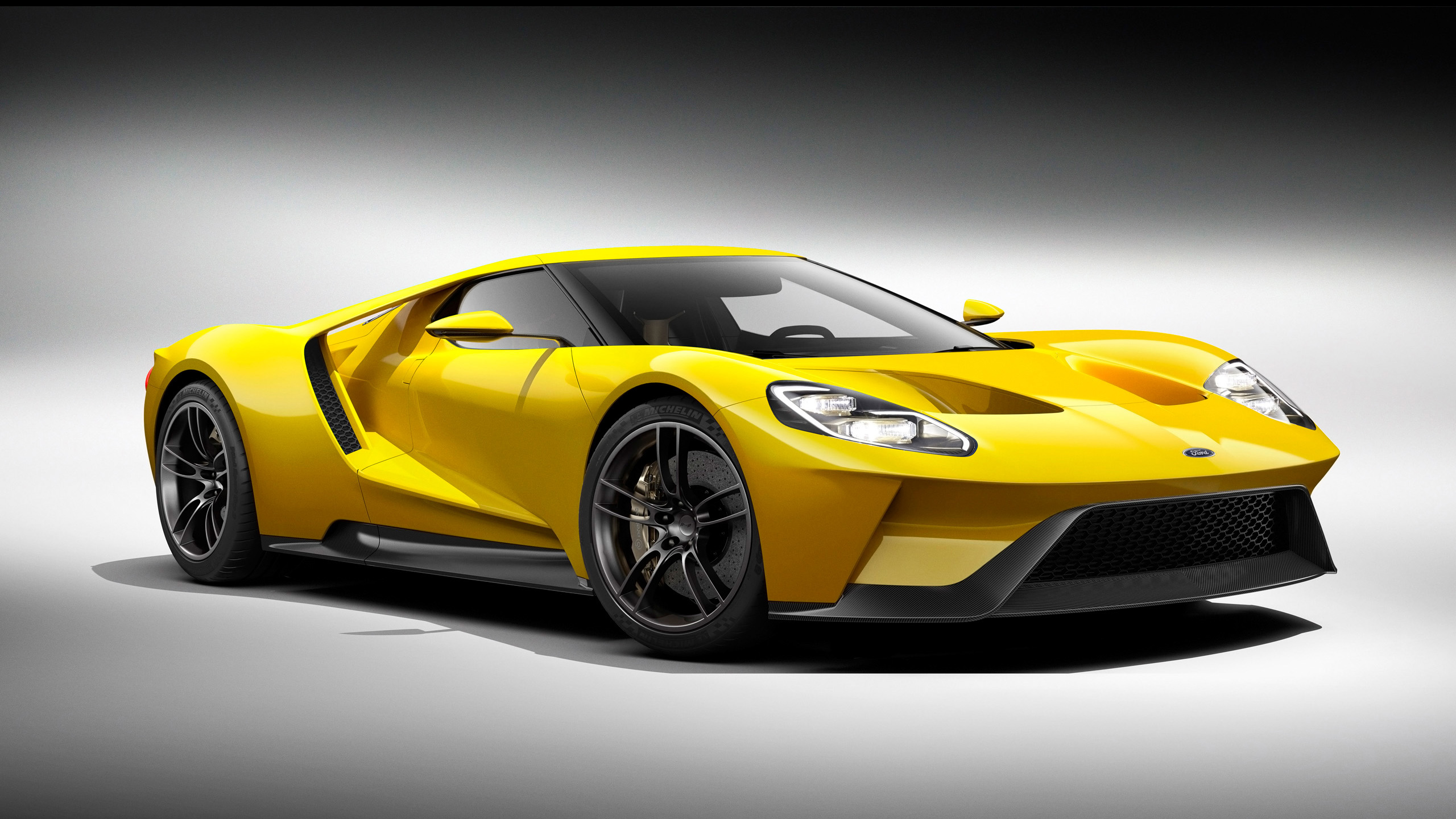 Ford Gt Images Ford Gt  Yellow Hd Wallpaper And Background Photos