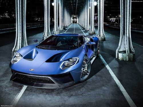 Ford Gt Wallpaper Called Ford Gt  Blue
