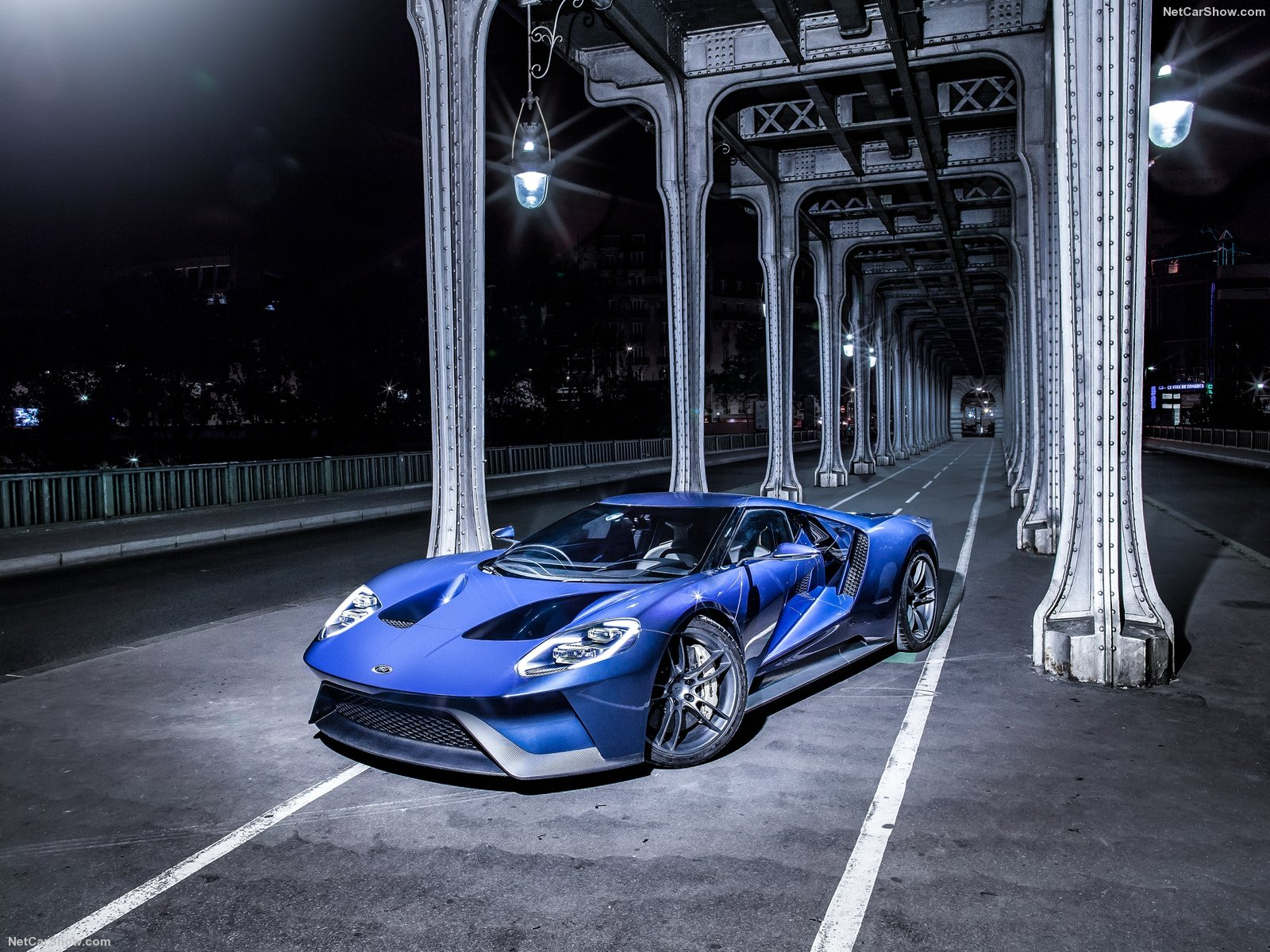 Ford Gt Images Ford Gt  Blue Hd Wallpaper And Background Photos