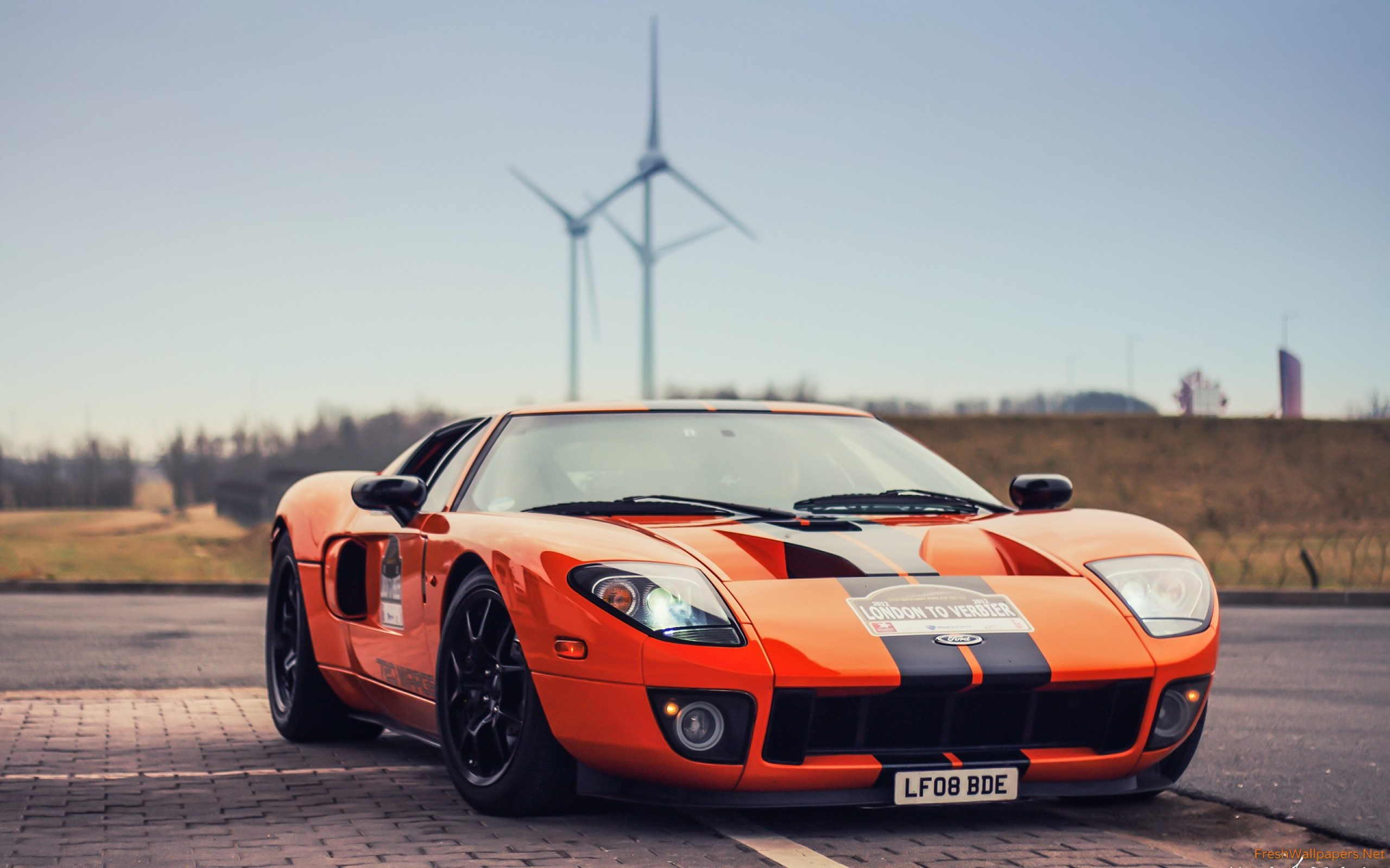 Ford Gt Images Ford Gt Blue Orange Hd Wallpaper And Background Photos