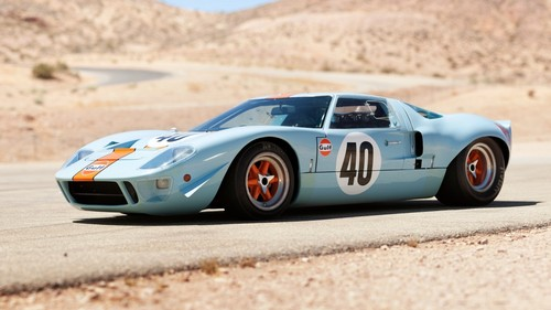Ford Gt Wallpaper Called Ford Gt Blue Orange