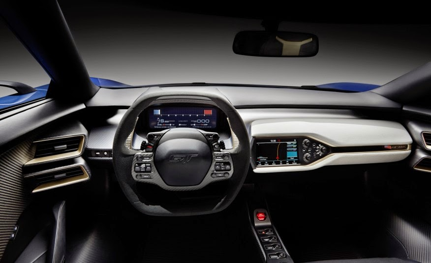 Ford Gt Images Ford Gt Concept Interior Hd Wallpaper And Background Photos