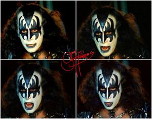 Gene ~Valencia, California…May 11-15, 1978 (KISS Meets The Phantom of the Park)
