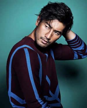 Godfrey for Men's Folio Singapore