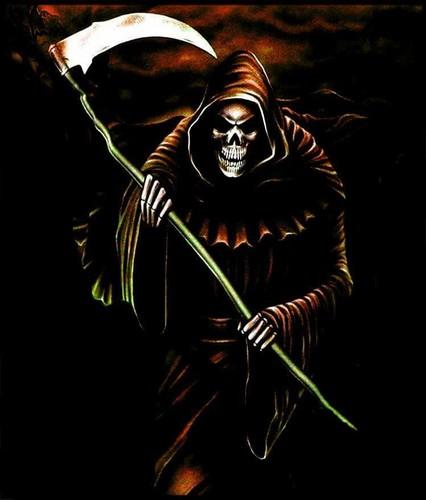 """Skull Guitar Wallpaper Hd: AWESOME SKULLS """" N """" STUFF Images Grim Reaper HD Wallpaper"""