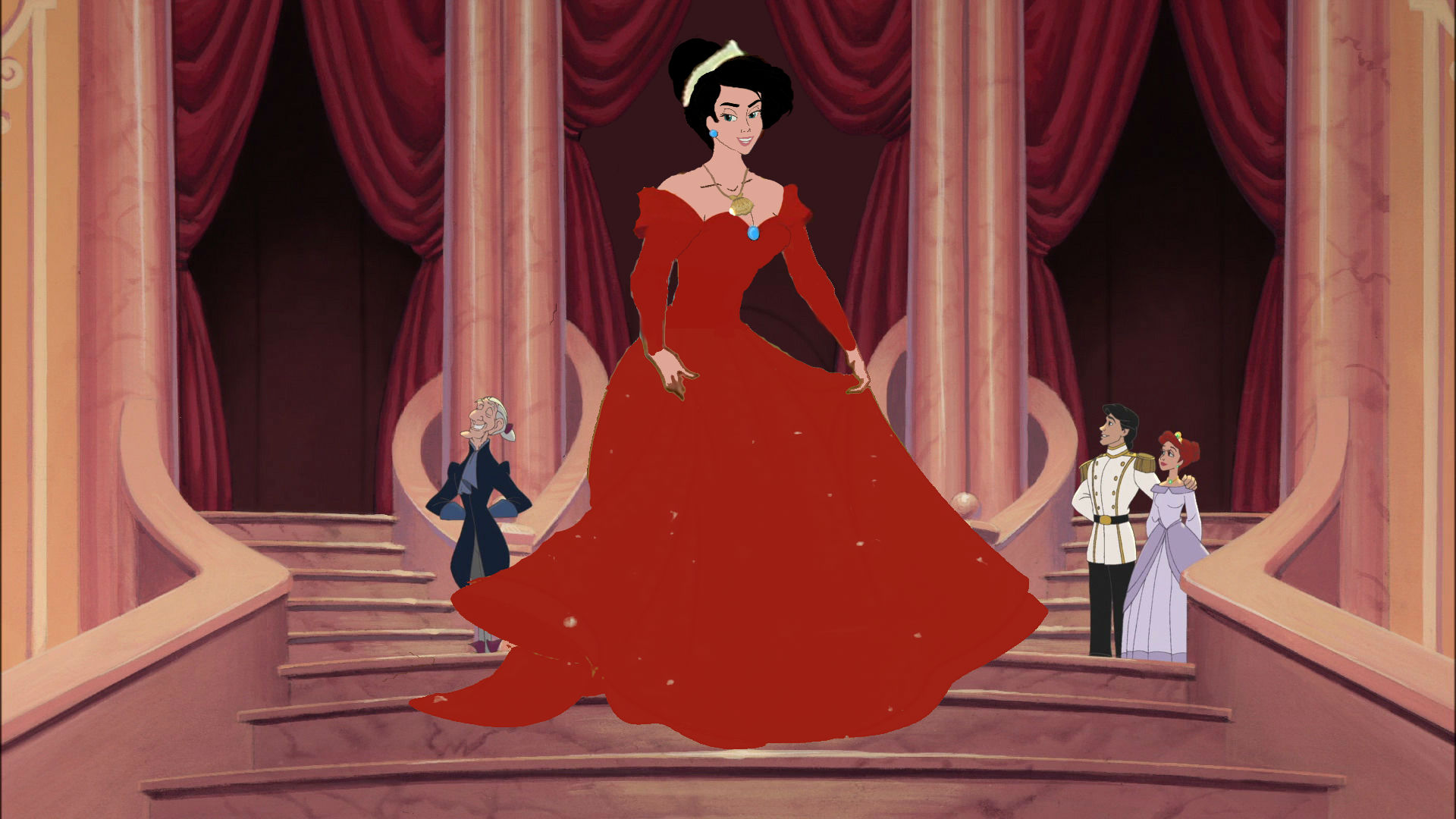 Walt Disney Fan Art - Grown Up Princess Melody