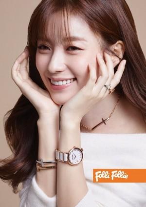 Han Hyo Joo for 'Folli Follie'