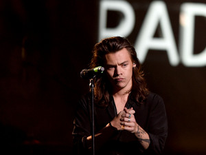 Harry Styles at the iHeartRadio Jingle Ball 2015