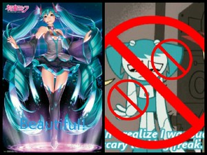 Hatsune Miku is better My life as a Teenage Robot Jenny Wakeman XJ9 Sucks